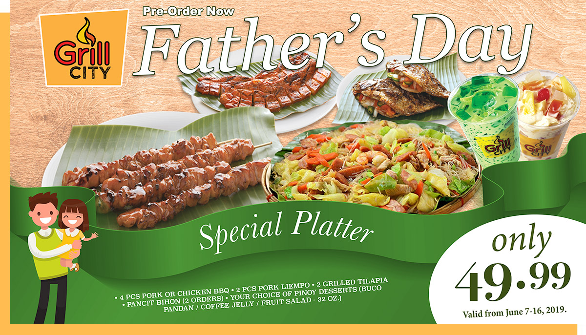 Father's Day Special platter