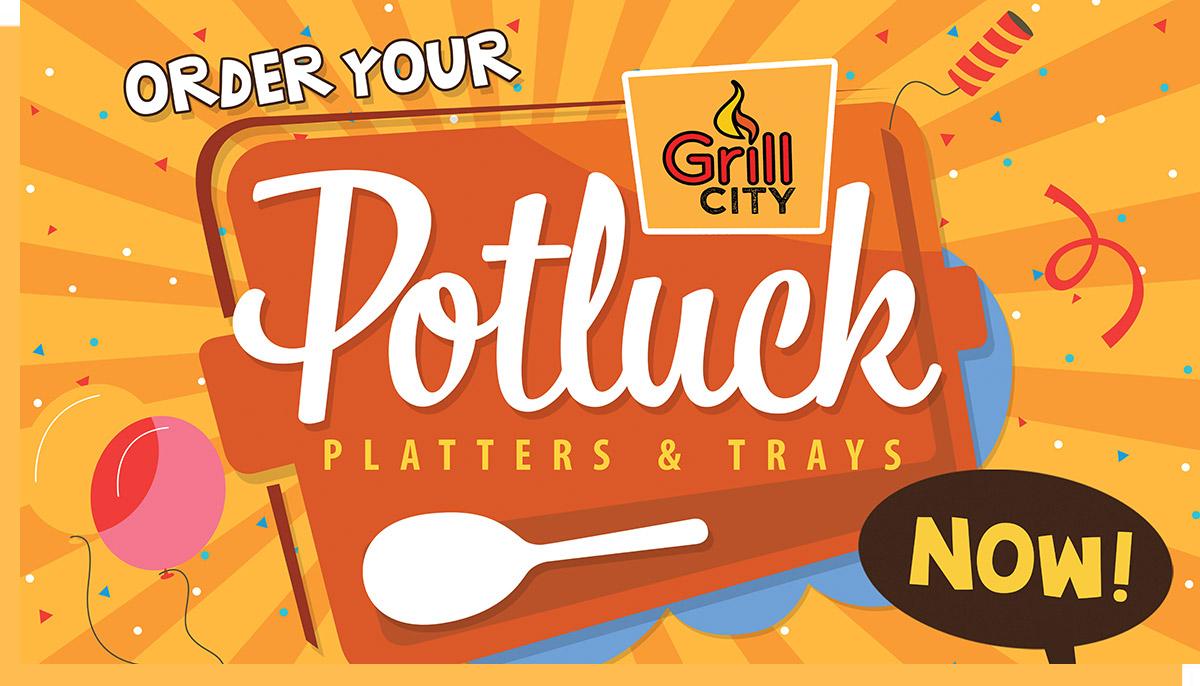 Potluck Platters & Trays