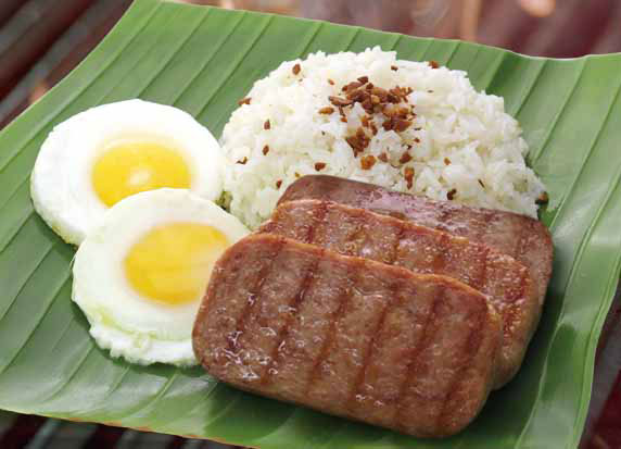 Southern California Grilled Silog – Grilled Luncheon Meat