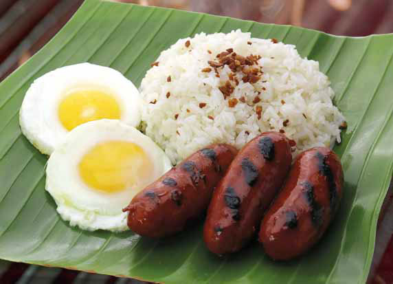 Chicago Grilled Silog – Grilled Sweet Longganisa