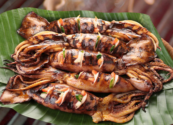 Hawaii Party Packs – 5pcs Grilled Squid