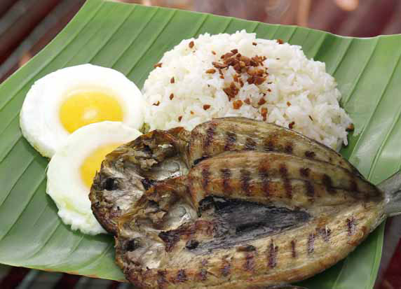 San Diego Grilled Silog – Grilled Baby Bangus