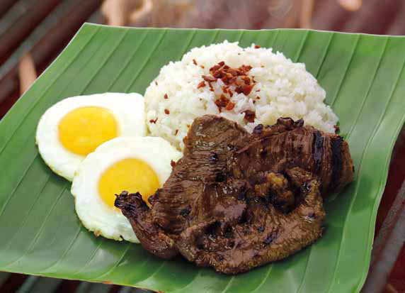 San Diego Grilled Silog – Grilled Beef Tapa